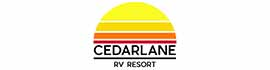 logo for Cedarlane RV Resort