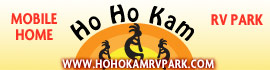 logo for Ho Ho Kam RV Park