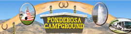 logo for Ponderosa Campground