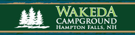 logo for Wakeda Campground