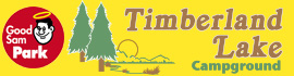 logo for Timberland Lake Campground