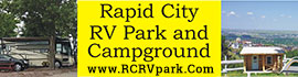 logo for Rapid City RV Park and Campground