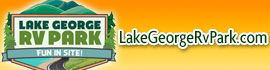logo for Lake George RV Park