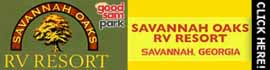 logo for Savannah Oaks RV Resort