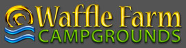 logo for Waffle Farm Campgrounds