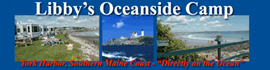 logo for Libby's Oceanside Camp