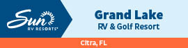 logo for Grand Lake RV & Golf Resort