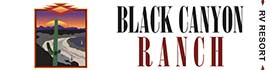 logo for Black Canyon Ranch RV Resort