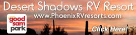 logo for Desert Shadows RV Resort