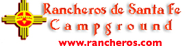 logo for Rancheros de Santa Fe Campground