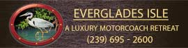 logo for Everglades Isle Motorcoach Resort & Marina