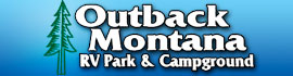 logo for Outback Montana RV Park & Campground