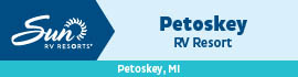 logo for Petoskey RV Resort