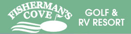 logo for Fisherman's Cove Golf & RV Resort
