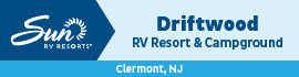 logo for Driftwood RV Resort & Campground