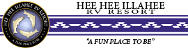 logo for Hee Hee Illahee RV Resort