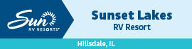 logo for Sunset Lakes Resort