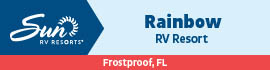 logo for Rainbow RV Resort