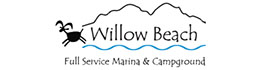 logo for Willow Beach Marina & Campground
