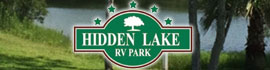 logo for Hidden Lake RV Park