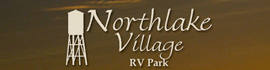 logo for Northlake Village RV Park