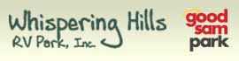 logo for Whispering Hills RV Park