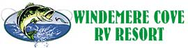 logo for Windemere Cove RV Resort