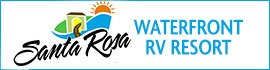 logo for Santa Rosa Waterfront RV Resort