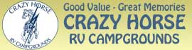 logo for Crazy Horse RV Campgrounds