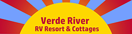 logo for Verde River RV Resort & Cottages