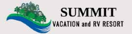 logo for Summit Vacation & RV Resort