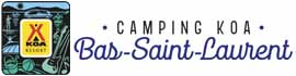 logo for KOA Bas-St-Laurent Campground