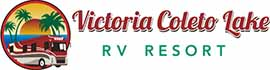 logo for Victoria Coleto Lake RV Resort