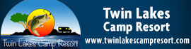 logo for Twin Lakes Camp Resort