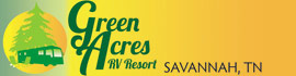 logo for Green Acres RV Park