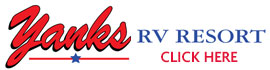 logo for Yanks RV Resort