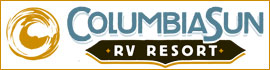 logo for Columbia Sun RV Resort