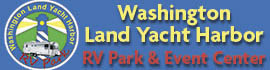 logo for Washington Land Yacht Harbor RV Park & Event Center