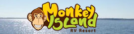 logo for Monkey Island RV Resort