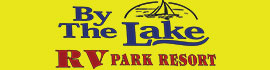 logo for By The Lake RV Park Resort