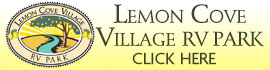 logo for Lemon Cove Village RV Park