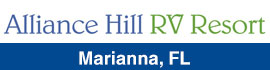 logo for Alliance Hill RV Resort