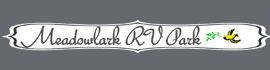 logo for Meadowlark RV Park