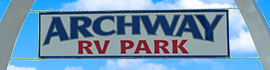 logo for Archway RV Park