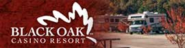 logo for The RV Park at Black Oak Casino Resort