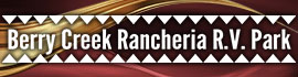 logo for Berry Creek Rancheria RV Park