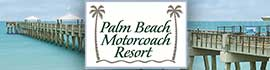 logo for Palm Beach Motorcoach Resort