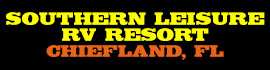 logo for Southern Leisure RV Resort