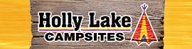 logo for Holly Lake Campsites