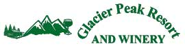 logo for Glacier Peak Resort and Winery